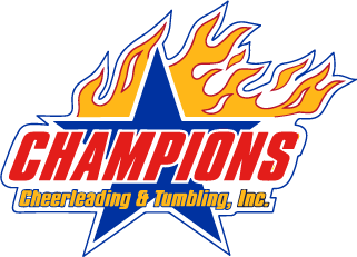 Champions Cheerleading and Tumbling logo